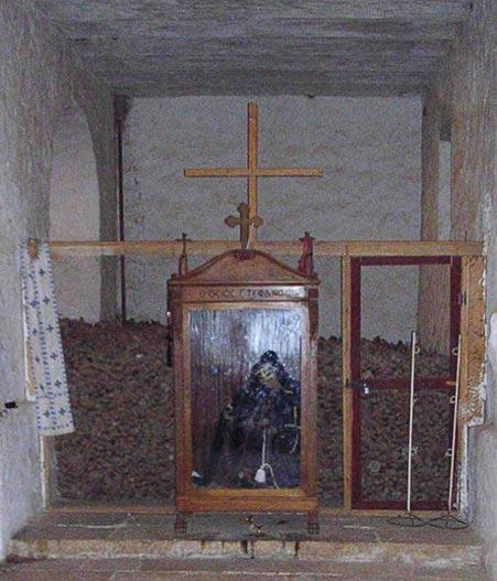 Ossuary, Saint Catherine's Monastery, Sinai, Egypt (Wikimedia Commons)