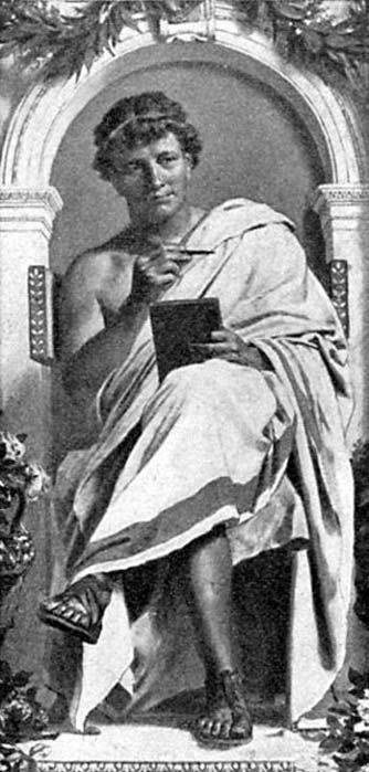 Ovid by Anton von Werner. (Public Domain)