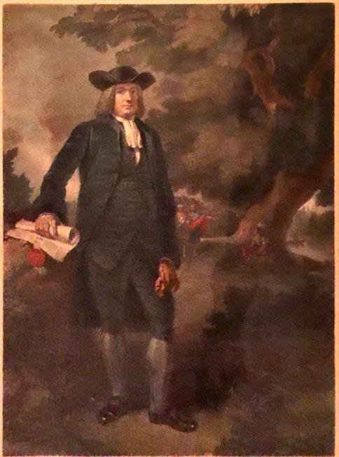 Painting of William Penn.