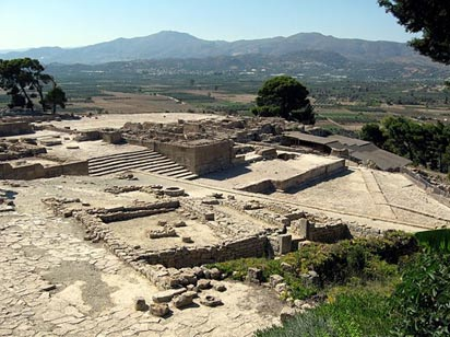 Palace complex, Ruins of Phaistos