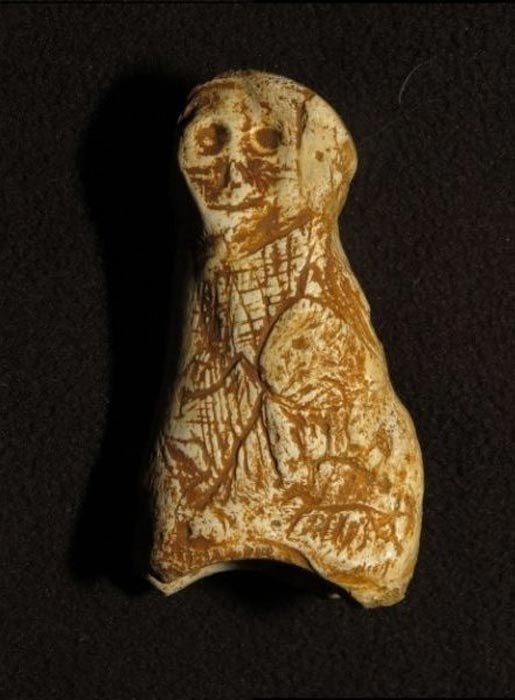 The newly-discovered Paleolithic figurine