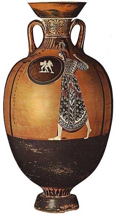 Panathenaic amphora.