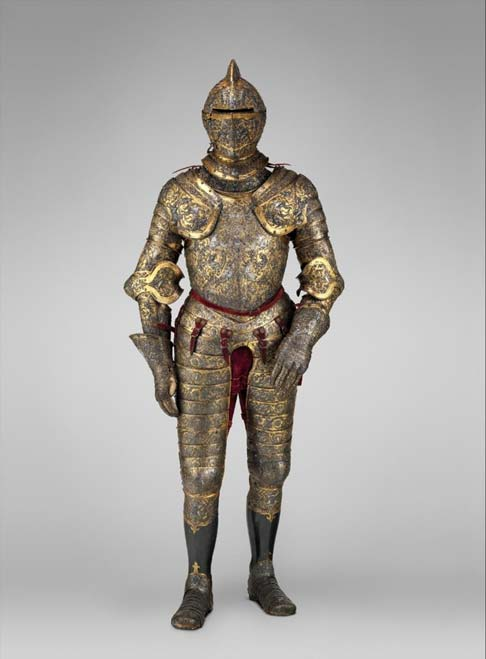 Parade armor of Henry II of France.
