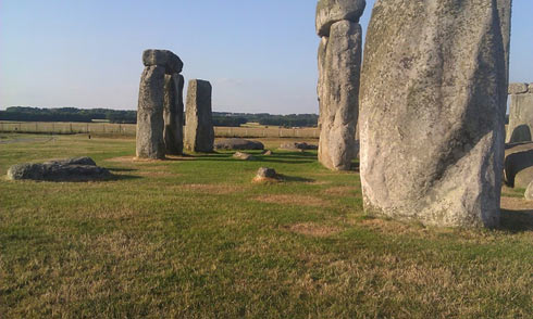 Parch marks at Stonehenge