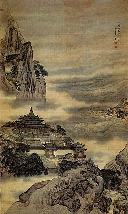 Penglai Island. (Public Domain)