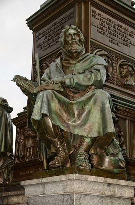 Statue of Peter Waldo