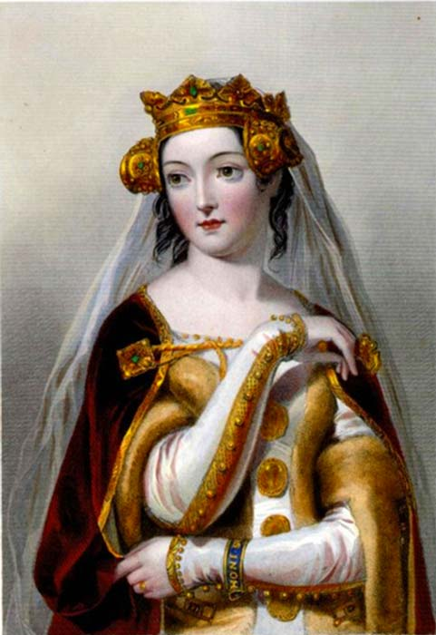 Philippa of Hainault, Queen consort of England. (Public Domain)