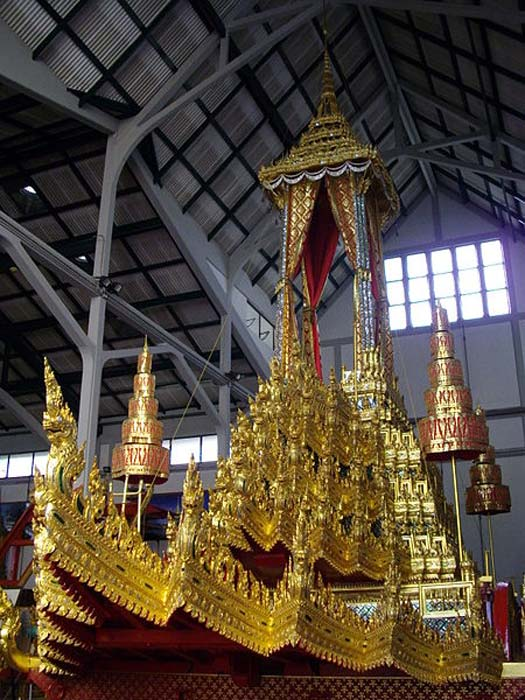 Phra Mahaphichairatcharot (The Royal Great Victory Carriage) which has been used in royal cremation ceremonies in Thailand.