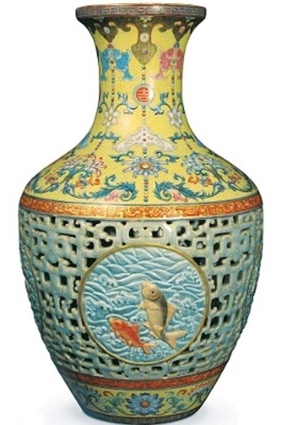 The Pinner Qing Dynasty Vase