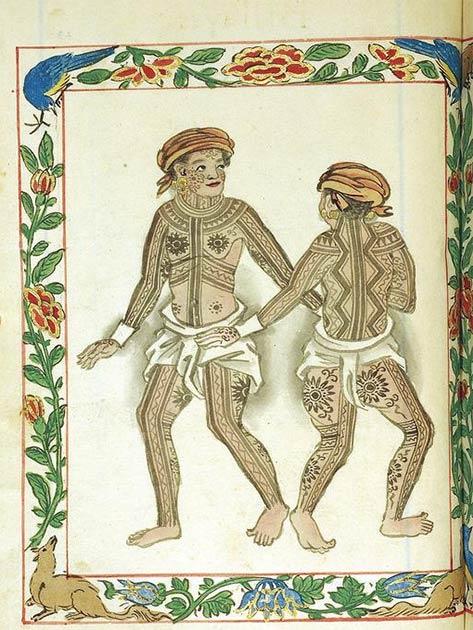 Pintados of the Visayas (Leyte or Samar) (Boxer Codex / Public domain)