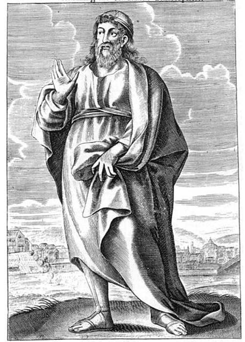 Plato, ancient Greek philosopher. From Thomas Stanley, (1655), 'The history of philosophy: containing the lives, opinions, actions and Discourses of the Philosophers of every Sect, illustrated with effigies of divers of them.' (Public Domain)