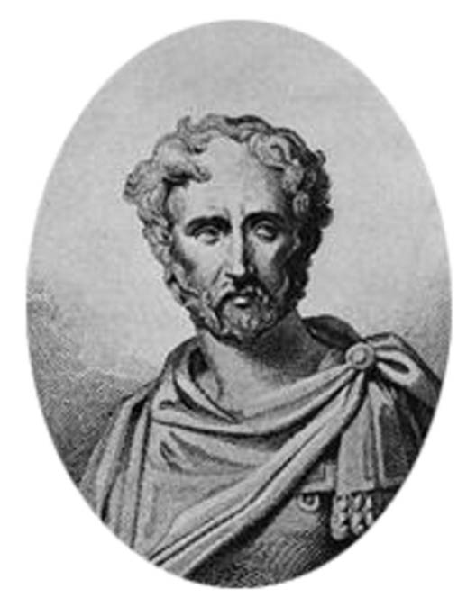 Pliny the Elder, as imagined by a 19th-century artist. No contemporary depiction of Pliny is known to survive.