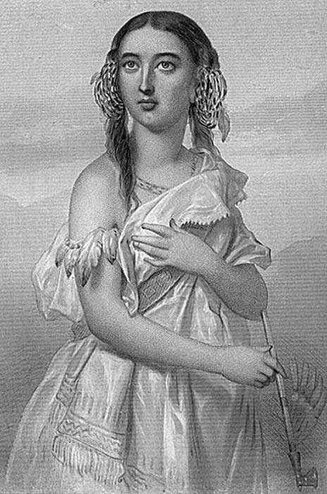 'Pocahontas' (1883) Clarke, Mary Cowden.