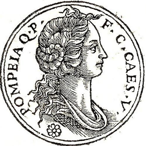 Pompeia, one of Caesar's wives.