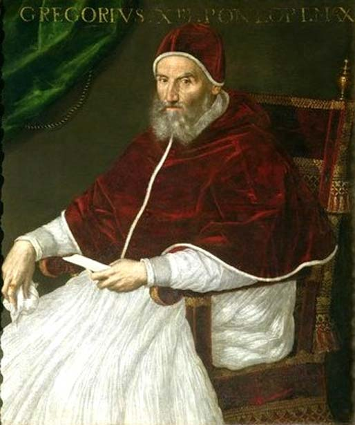 Pope Gregory XIII, portrait by Lavinia Fontana