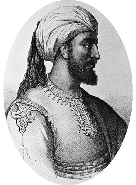 Portrait of Abd al-Rahman I, who was one of the most historically significant Muslims in Spain during the Middle Ages. (Public domain)