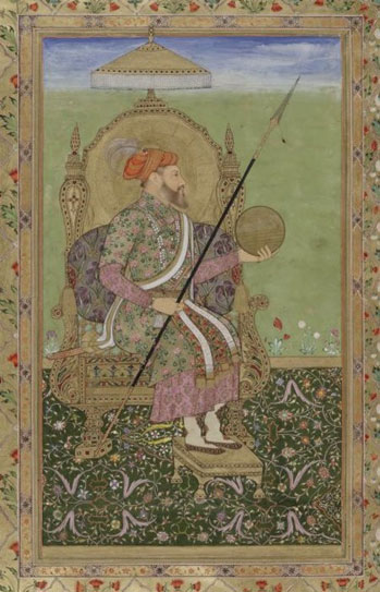 Portrait of Emperor Shah Jahan