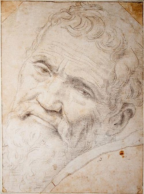 Portrait of Michelangelo by Daniele da Volterra.