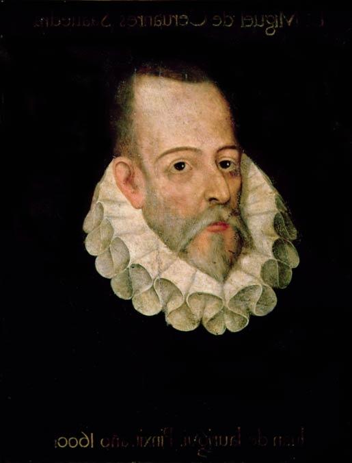 Portrait of Miguel de Cervantes Saavedra by Juan de Jáuregui