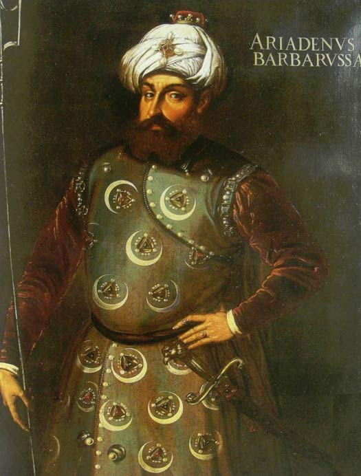 Portrait of Barbarossa Hayreddin Pasha (1478-1546)