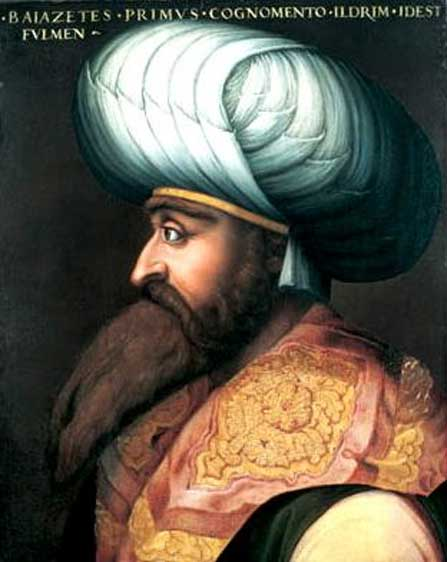 Portrait of Bayezid I.