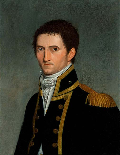 Portrait of Captain Matthew Flinders by Antoine Toussant. (Public Domain)
