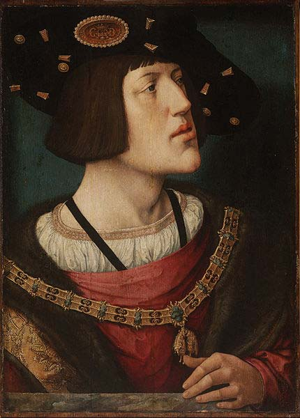 Portrait of Charles V (1515-1516) by Bernard van Orley. (Public Domain)