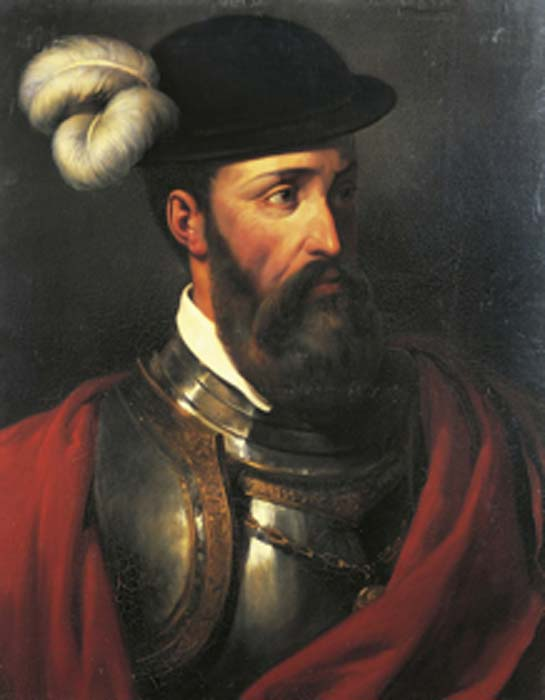 Portrait of Francisco Pizarro. (ORGPE / Public Domain)