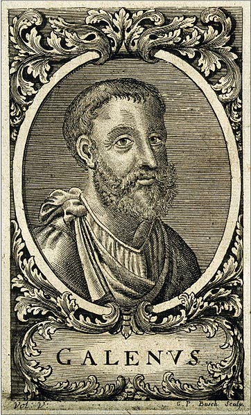 Portrait of Galen.