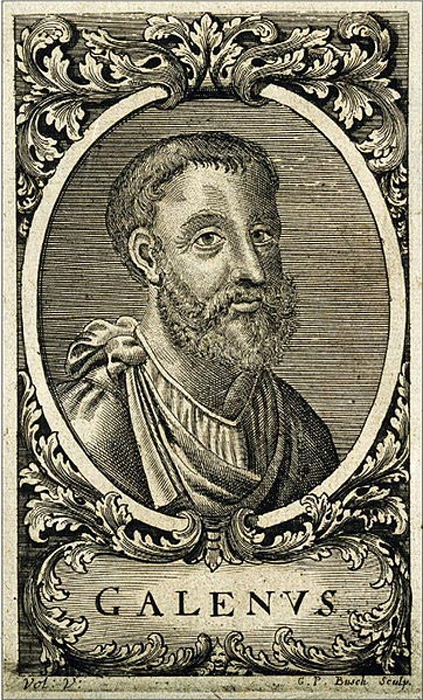 Portrait of Galen. (Public Domain)