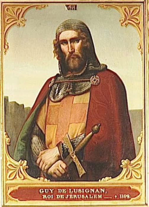 Portrait of Guy de Lusignan. (Fabiodevivo / Public Domain)