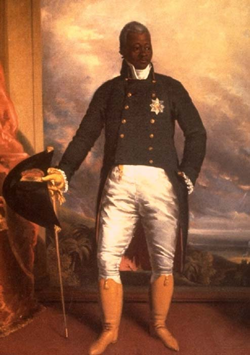Portrait of Henri Christophe, King of Haiti. (Public Domain)