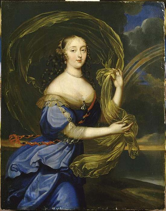 Portrait of Madame de Montespan. (1640-1707)