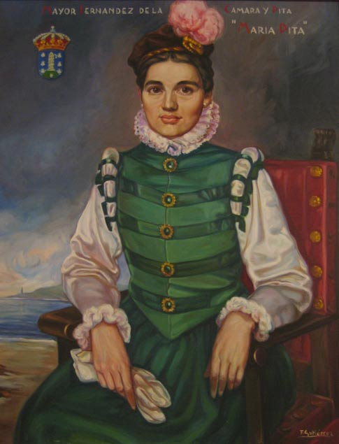 Portrait of Maria Pita.