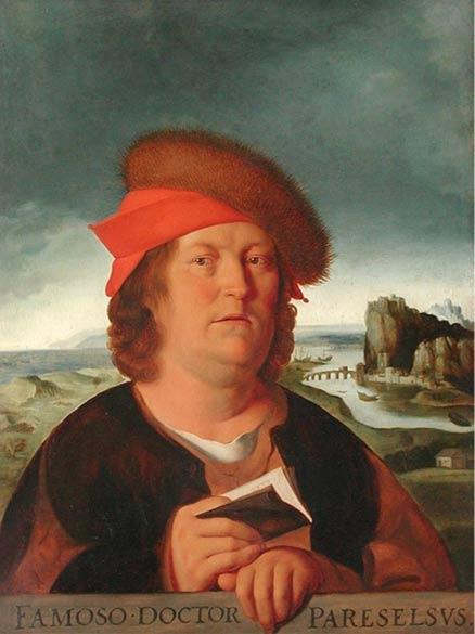 Portrait of Paracelsus