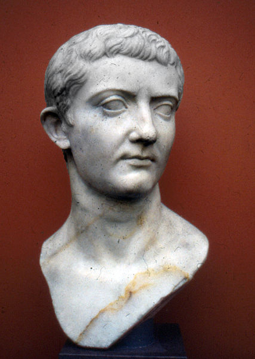 Portrait of Roman Emperor Tiberius in Ny Carlsberg Glyptotek, Copenhagen. (Public Domain)