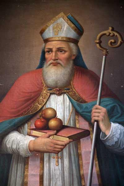 Portrait of Saint Nicholas (BigStockPhoto)