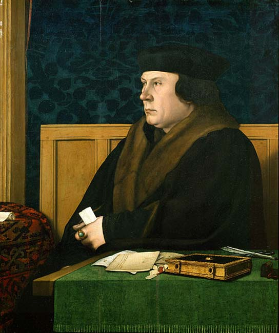 Portrait of Thomas Cromwell by Hans Holbein. (Public Domain)