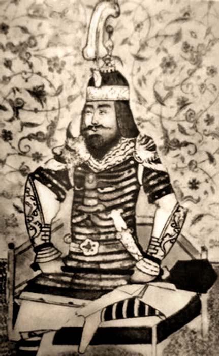 Portrait of Timur, 15th century.
