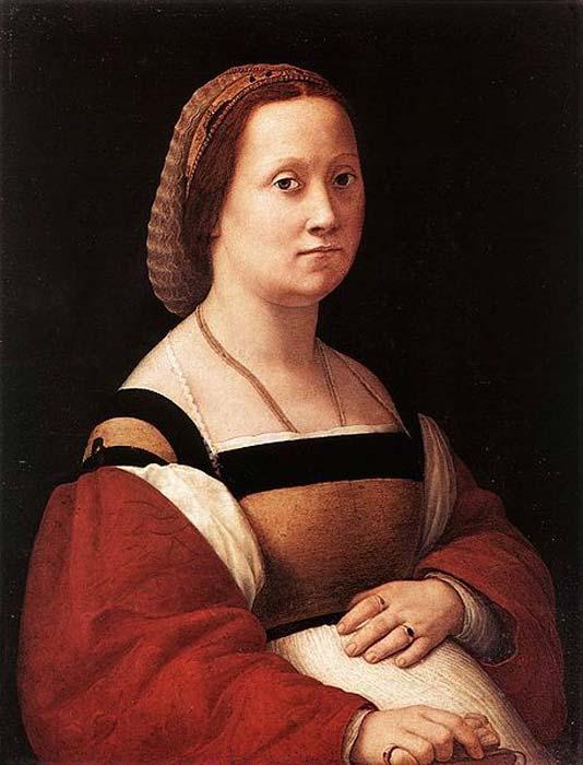 'Portrait of a Woman' (1505-1506) by Raphael. (Public Domain)