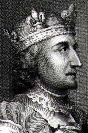 Portrait of the king Stephen of England, as imagined by George Vertue (1684-1756)