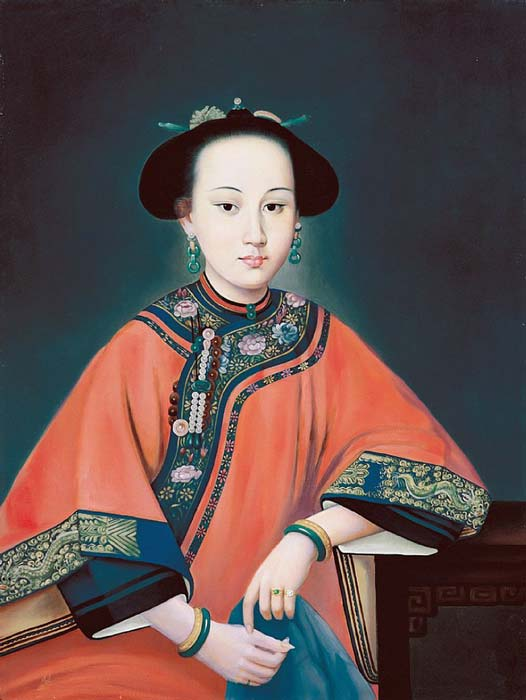 Portrait of Lady Hoja (the Fragrant Concubine), Consort of the Qing Dynasty Qianlong Emperor. (Unidentified painter / Public domain)