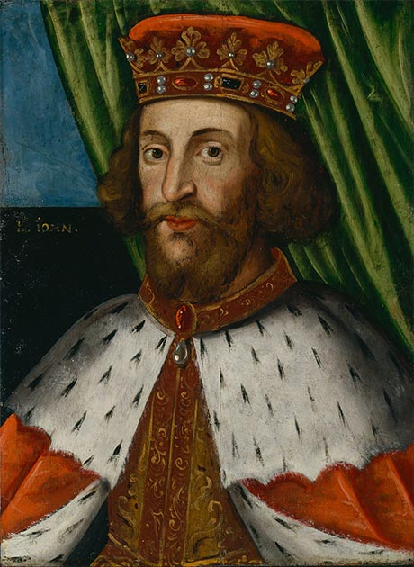 Portrait of King John of England. (Dulwich Picture Gallery / Public domain)