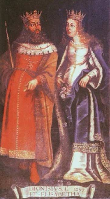 Denis of Portugal and Elizabeth of Aragon.