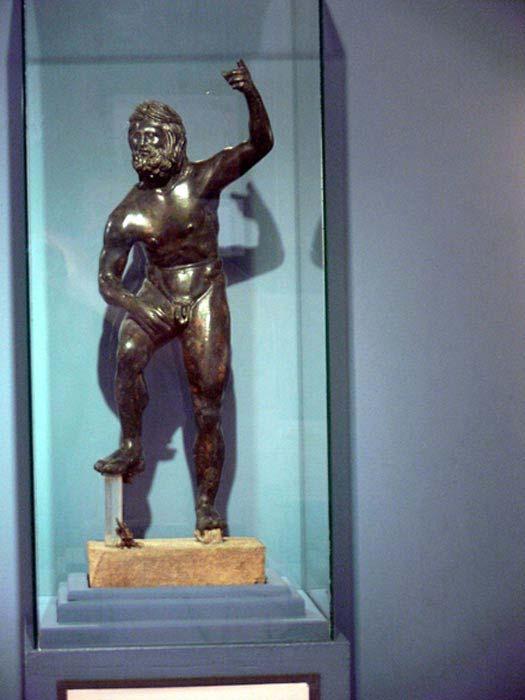 Poseidon, Paella Museum.