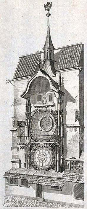 The Prague Astronomical Clock, c. 1791.