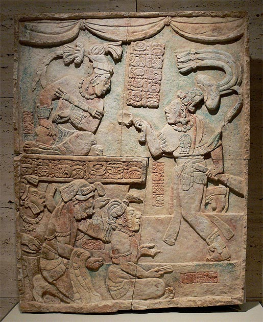 Presentation of captives to a Maya ruler. (FA2010 / Public Domain)