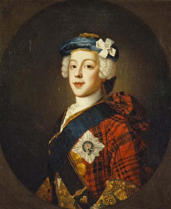 Prince Charles Edward Stuart, 1720 - 1788. Eldest son of Prince James Francis Edward Stuart. (Public Domain)