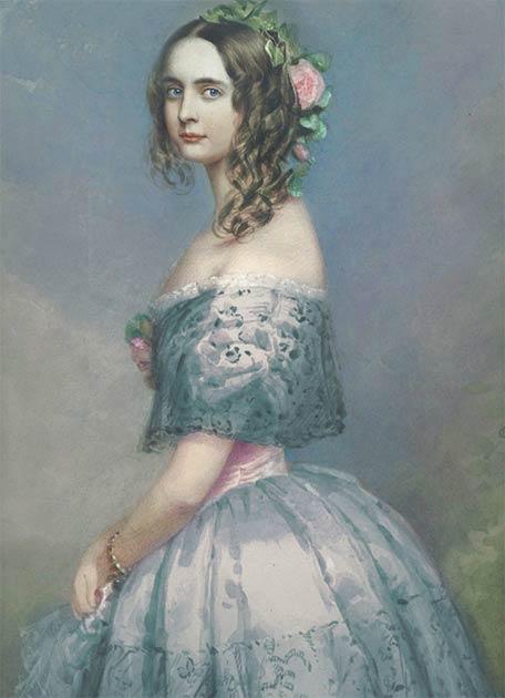 Princess Alexandra of Bavaria (1818-1875). (Public Domain)