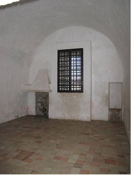 Prison cell occupied by the Man in the Iron Mask in the fort-Royal of the Sainte-Marguerite island